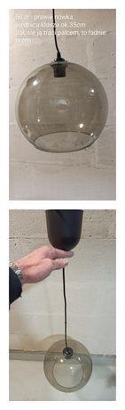 Lampa szklana kula ok. 35 cm