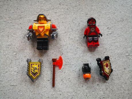Lego Nexo Knights figurki Axel i lawowy wojownik