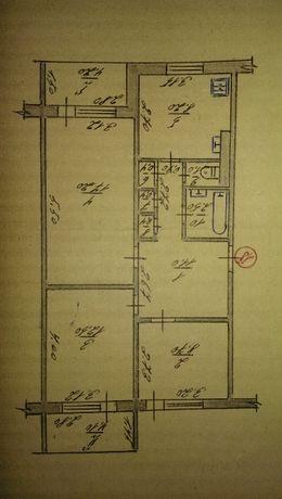 продам 3х комнатную квартиру п.Донец Змиевской раён
