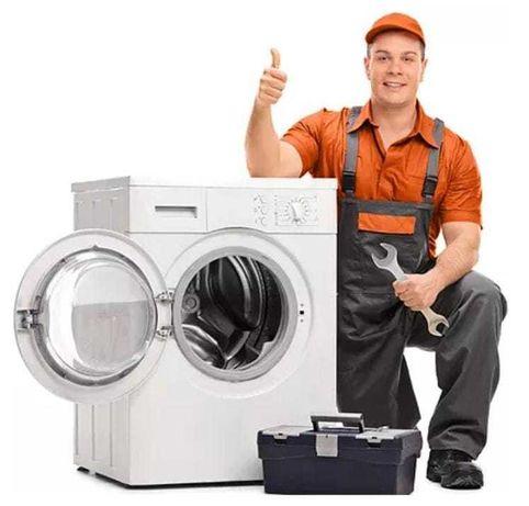 Reparações em máquinas de lavar roupa e loiça.