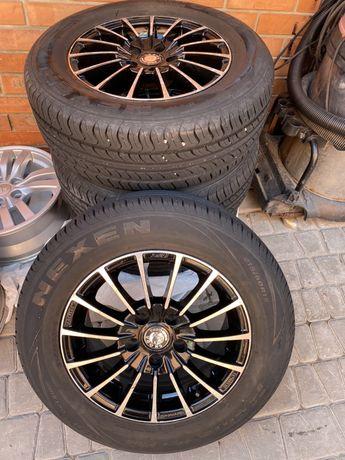 Резина, колеса, шины, диски Skoda octavia a5 R15, 215 60 15