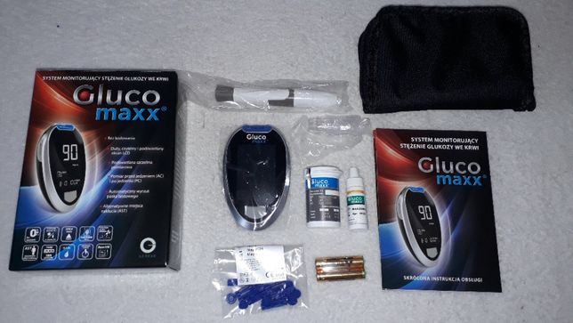 Glukometr Glucomaxx zestaw NOWY