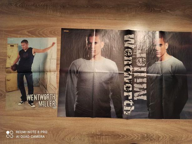 2 plakaty Wentworth Miller