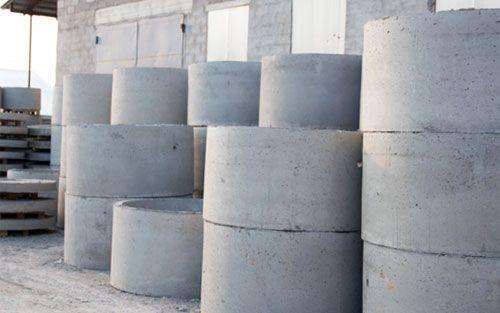 Канализация, септики. Доставка бетонных колец манипулятором