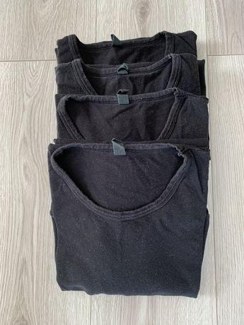 Reserved 4 koszulki czarne L