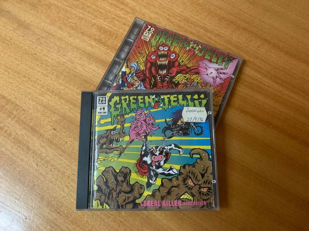 CDs GREEN JELLY - Cereal Killer e 333
