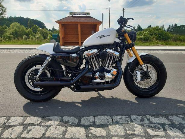 Harley Davidson Sportster 1200  rok Forty Eight Cafe Racer !!