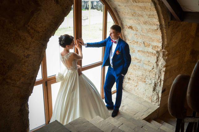 Свадебное платье очень нежное