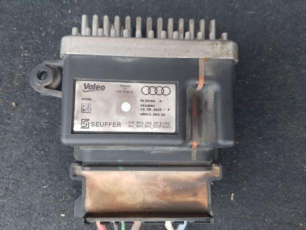 Блок управления вентилятором Audi A3,A4,A5,Q5 - 8k0959501E, 8K0910501F