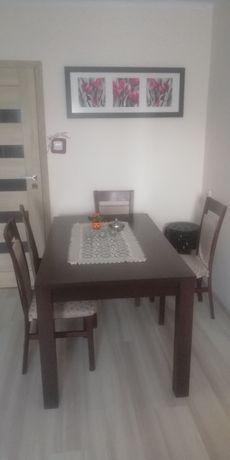 Stół ciemny brąz