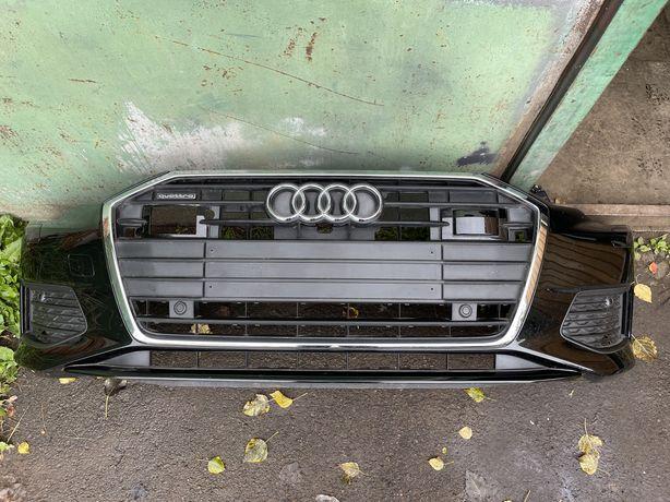 Бампер передній комплектний на Audi A6 C8