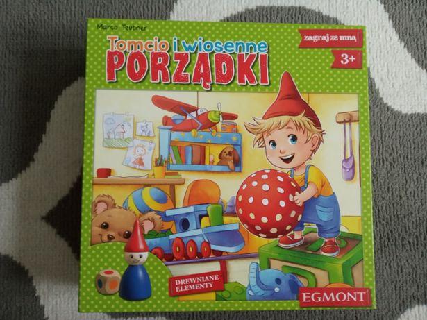 Tomcio i wiosenne porządki Gra planszowa edukacyjna Egmont 3+