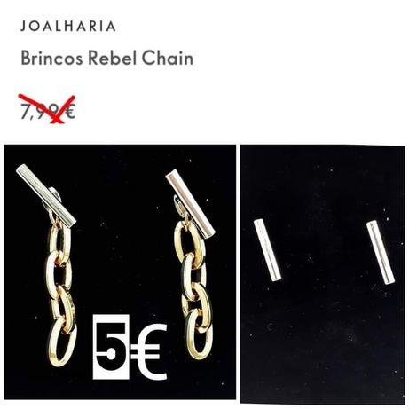 Brincos 2 em 1 Rebel Chain
