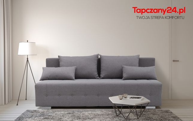 Sofa Wersalka Tapczan Kanapa z funkcją spania +pojemnik na pościel