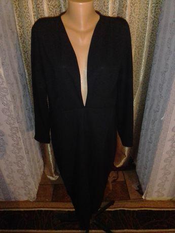 Платье свитер пиджак большой размер