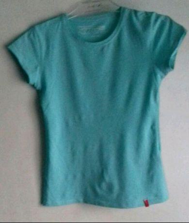 Koszulka top błękitna