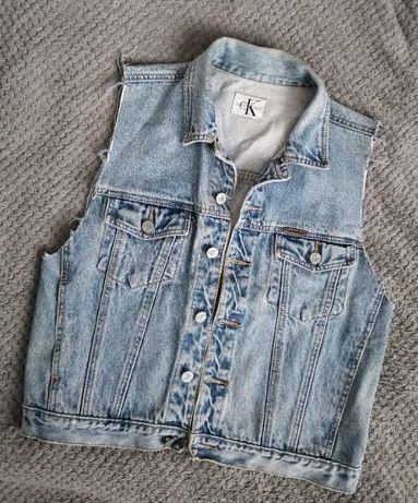 Sprzedam jeans'owy bezrękawnik CALVIN KLEIN