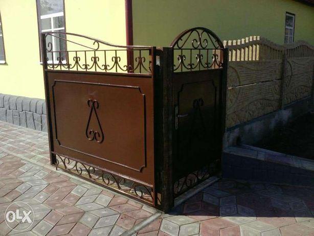 Изготовление решеток, перил, металлических дверей,металлоконструкций.