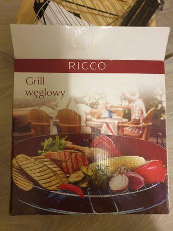 Mały grill węglowy firmy Ricco