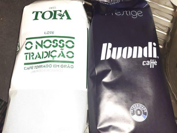 Café de grão 2 marcas diferentes