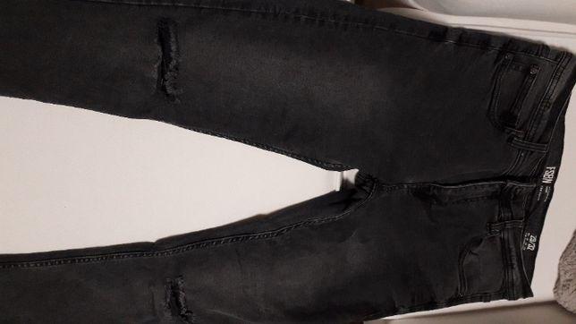 Spodnie jeans rozmiar 29/32 szare