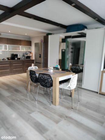 Piękne 3 pokojowe mieszkanie z działką i garażami