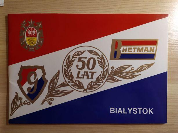 Album 50-cio lecia Hetmana Białystok, dawniej Gwardia