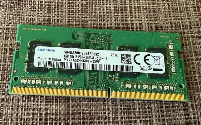 RAM память для ноутбука - Samsung DDR4 3200 MHz 4 гб
