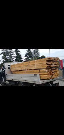 Deski szalunkowe od ręki transport  na budowę
