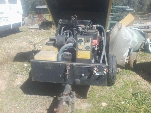 Compressor diesel Kaeser Motor Lombardini