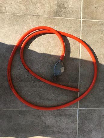 Reduktor do butli gazowej + wąż elastyczny