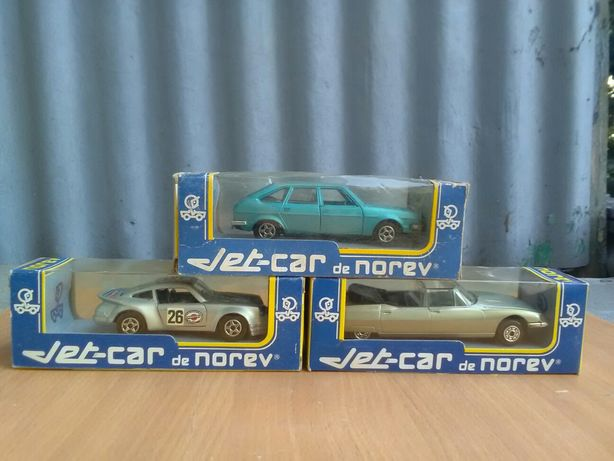 Масштабные модели 1/43 фирмы Jet-car de Norev(France)