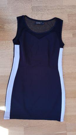 Sukienka 42 przeźroczyste plecy