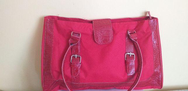 czerwona torba damska