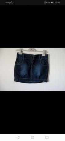Mini spódniczka jeansowa
