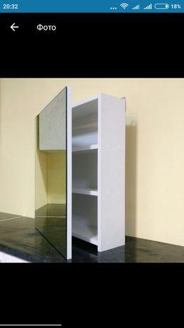 Навесной шкафчик для ванной