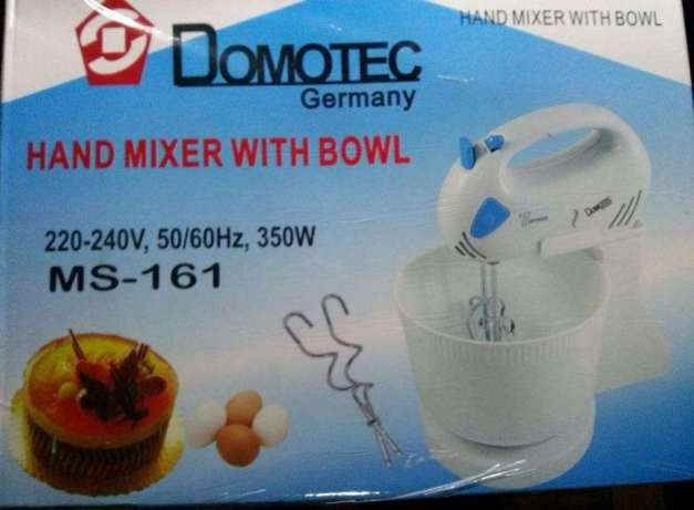 Миксер ручной с чашей Domotec Германия