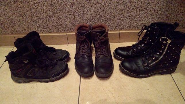 Jak nowe buty zimowe na gwarancji r. 38 i 37