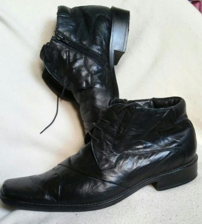 J.nowe botki ocieplane,kozaki,sztyblety,buty skórzane Ottimo-41