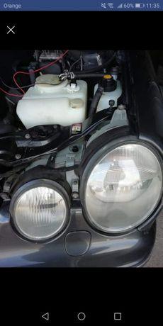 Mercedes w210 xenon ksenon lampy przod idealy anglik