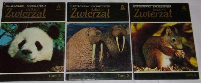 Ilustrowana encyklopedia dzikich zwierząt - Amber, Tomy 2, 3 i 4