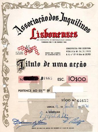 Associação Inquilinos Lisbonenses - Acção