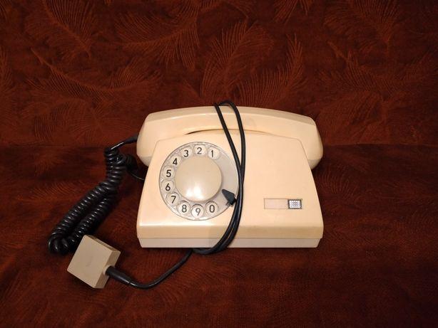 Kultowy TELEFON z PRL-u tarczkowy ASTER loft vintage PRL, stan BDB !!!