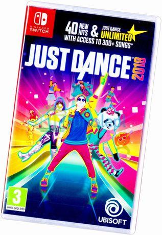 Just Dance 2018 Nintendo Switch NS Taneczna Nowa