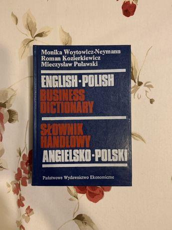 Angielsko-polski słownik handlowy