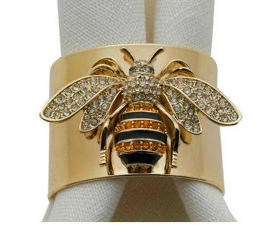 pierścionek obrączka pszczoła