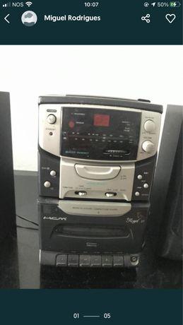 Móvel TV e Rádio Aparelhagem (Conjunto)