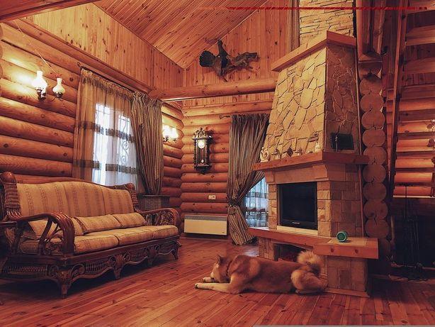 Аренда деревянного дома со сруба 200м2 Садовая Осокорки Славутич