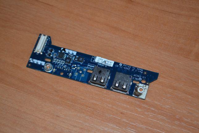 Плата USB и кнопки включения Acer Aspire 5100 разборка