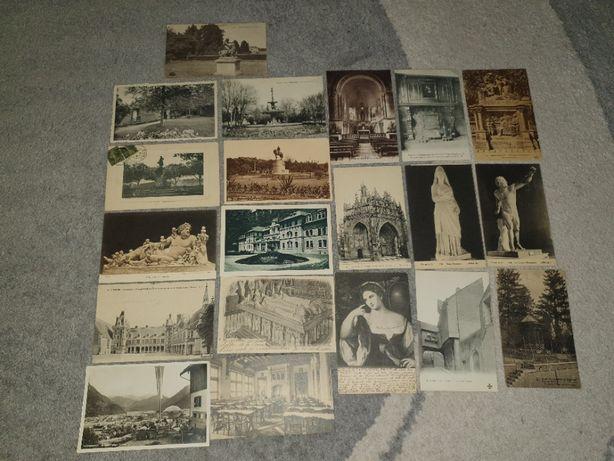 Старинные открытки Франция,Бельгия 20 штук